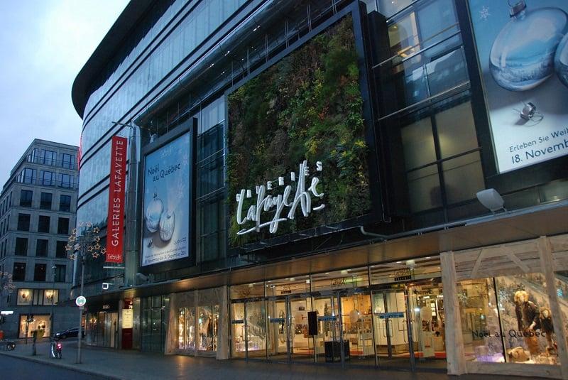Loja Galeries Lafayette em Berlim