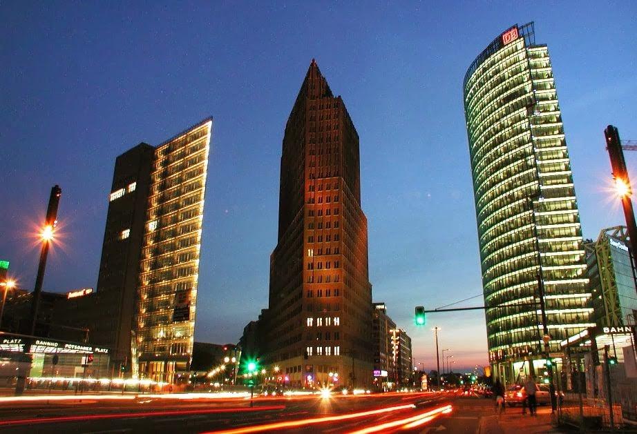 Potsdamer Platz em Berlim