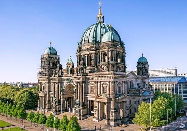 Vista da Catedral de Berlim
