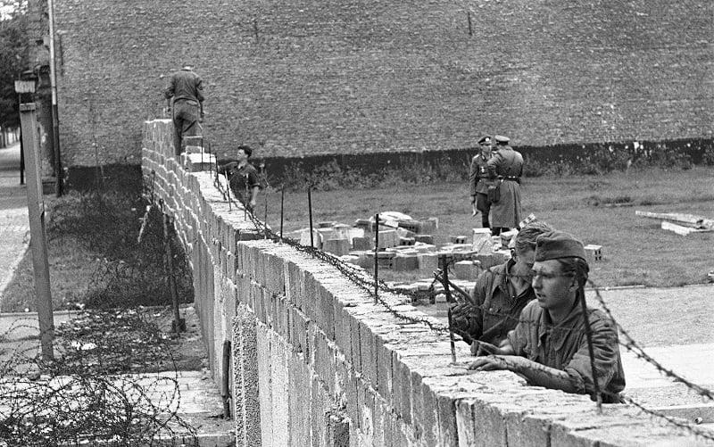 Muro de Berlim antigamente