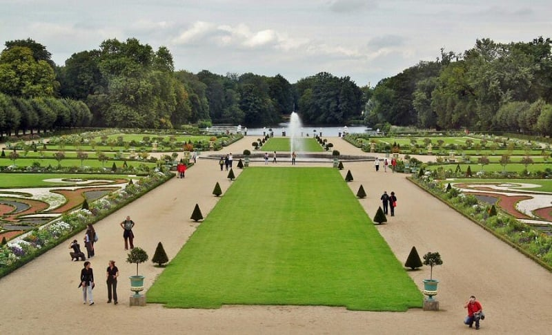 Jardins do Palácio de Charlottenburg