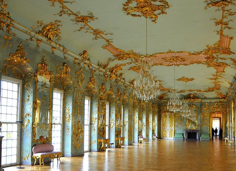 Intrior do Palácio Charlottenburg