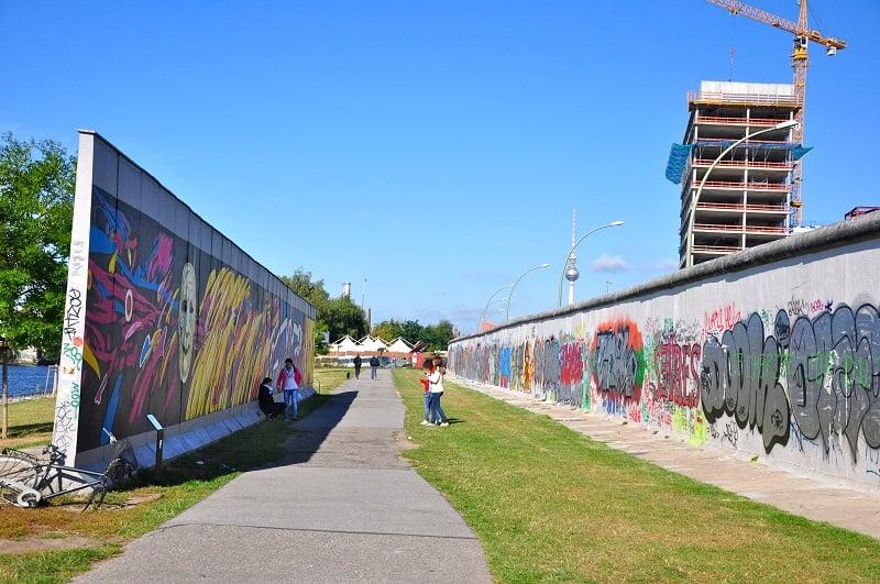O que restou do Muro de Berlim