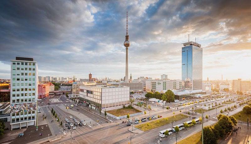 Alexanderplatz em Berlim