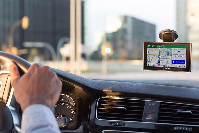 Uso do GPS em Hamburgo e na Alemanha