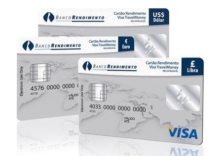 Facilidade de Cartão Pré Pago Internacional