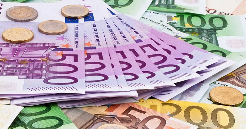 Moedas e Euros em Munique