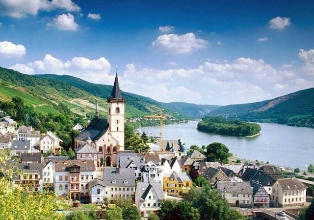 Lorch Village na Alemanha