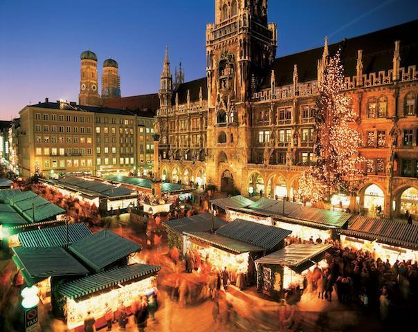 Mercados de Natal em Munique