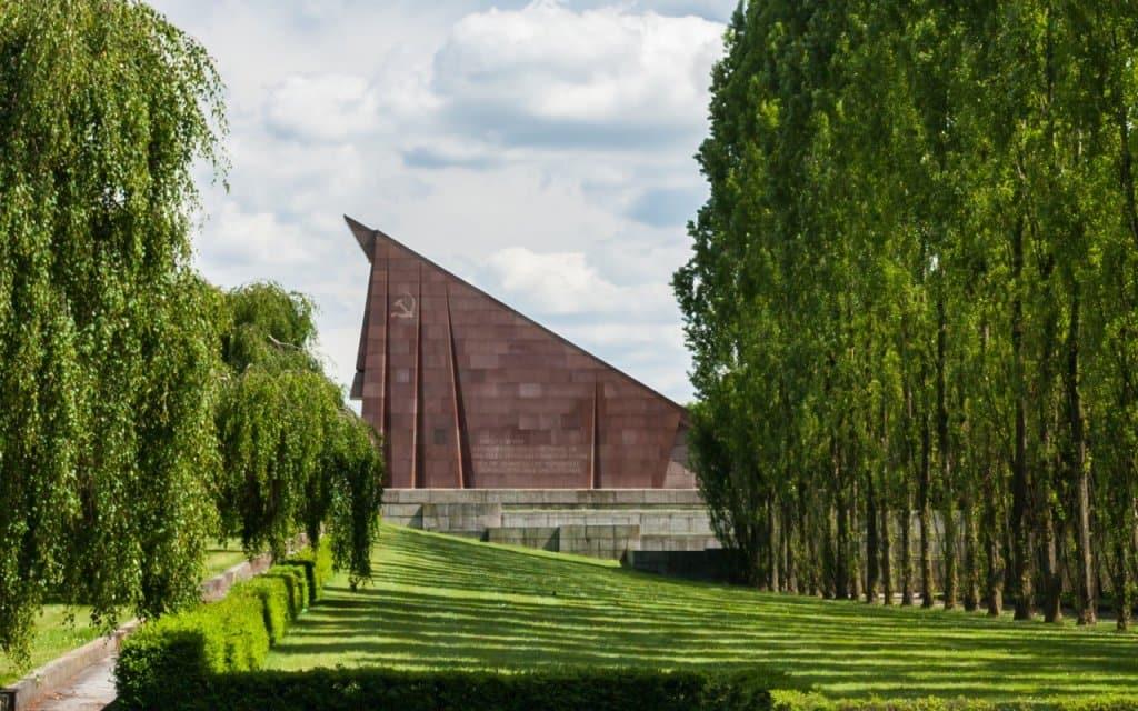 Estilo do Parque Tiergarten em Berlim