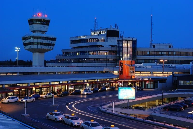 Do aeroporto de Tegel até o centro