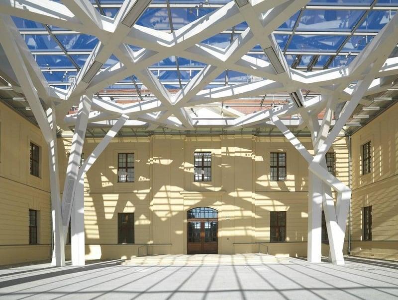 Arquitetura do Museu Judaico em Berlim