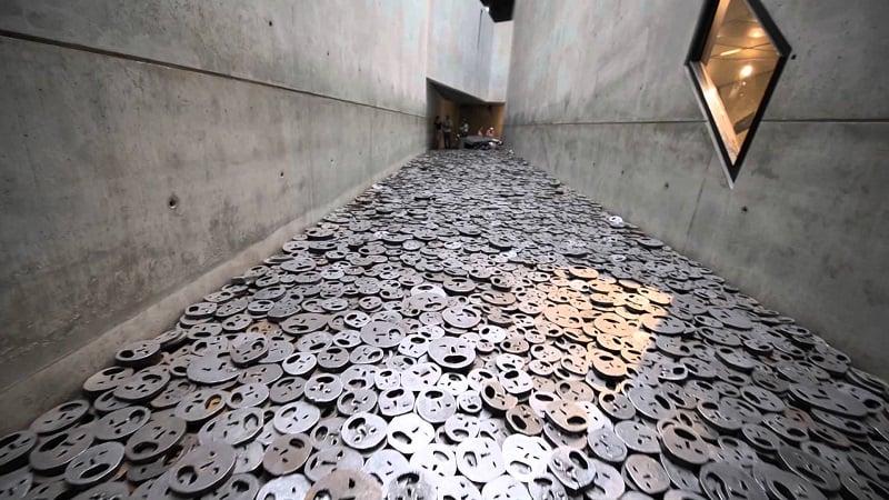 Eixo do Holocausto no Museu Judaico em Berlim