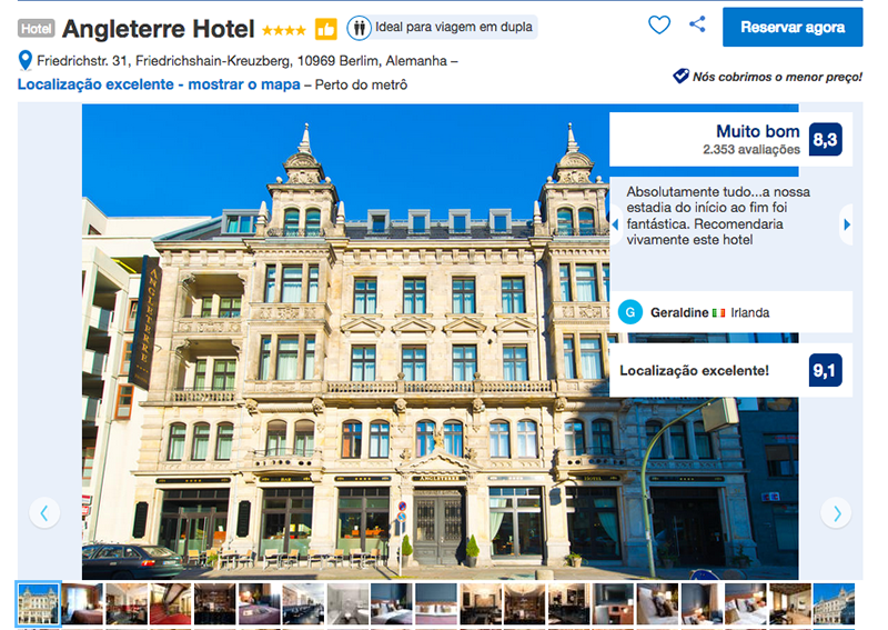 Angleterre Hotel em Berlim