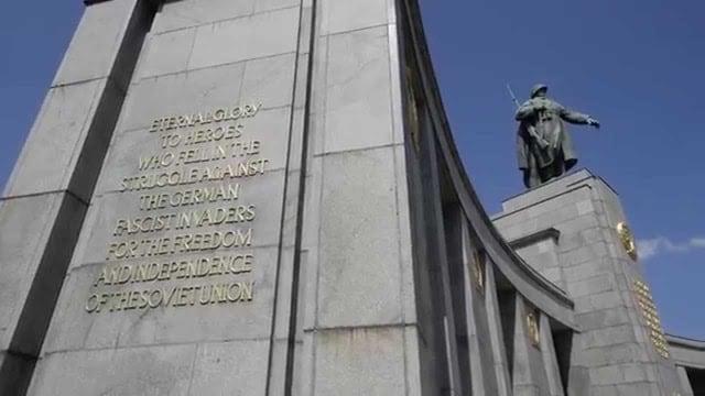 Memorial Soviético em Berlim