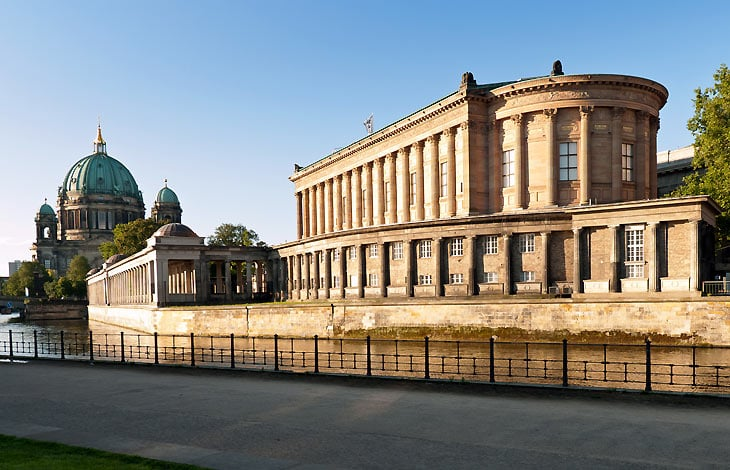 Fachada Museu Alte Nationalgalerie