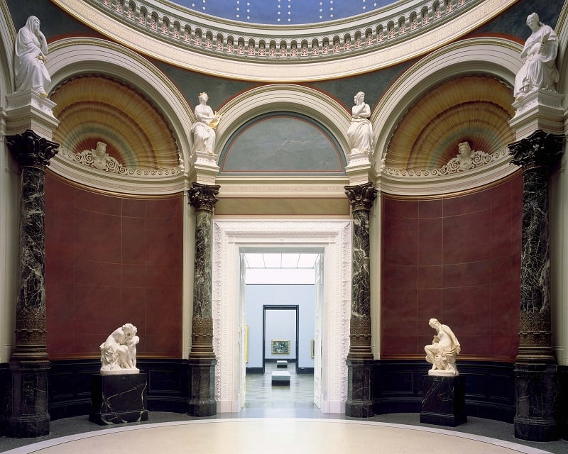 Interior do Museu Alte Nationalgalerie