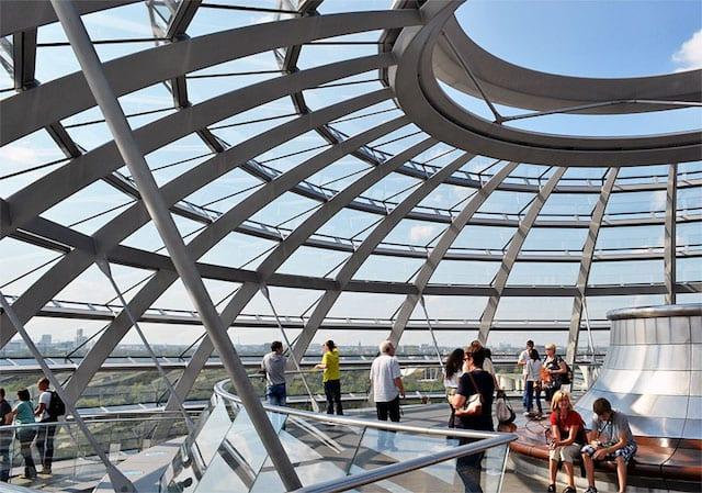 Visita ao Reichstag em Berlim