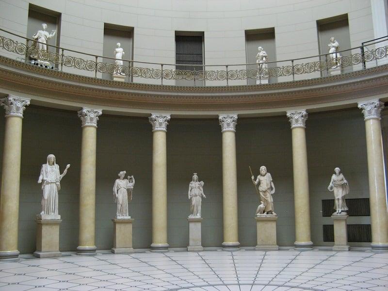Interior do Museu Altes em Berlim