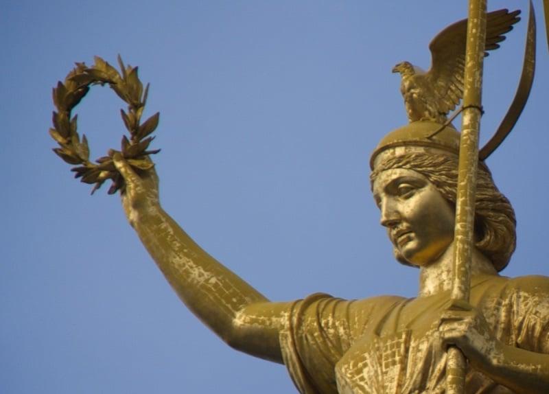 Estátua da deusa Vitória