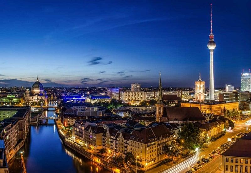 Noite em Berlim