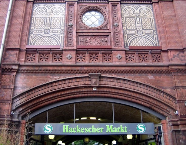 Estação Hackescher Markt