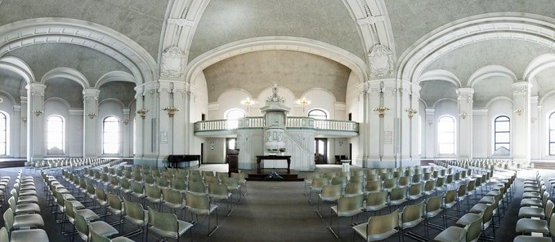 Interior da Catedral Francesa em Berlim