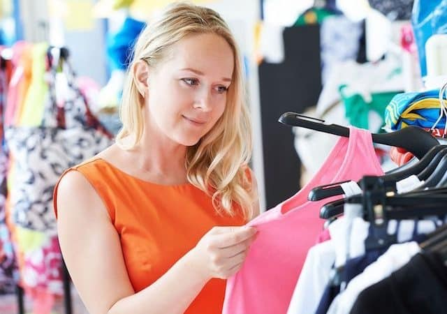 Comprando roupas em Berlim