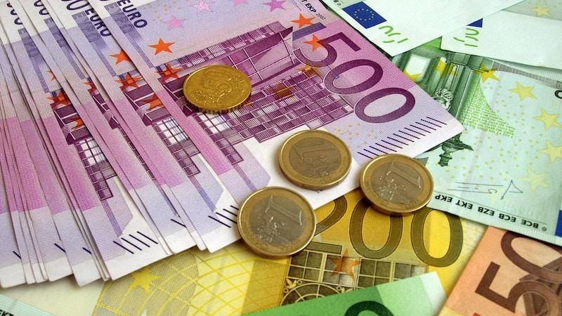 Euros em Berlim na Alemanha