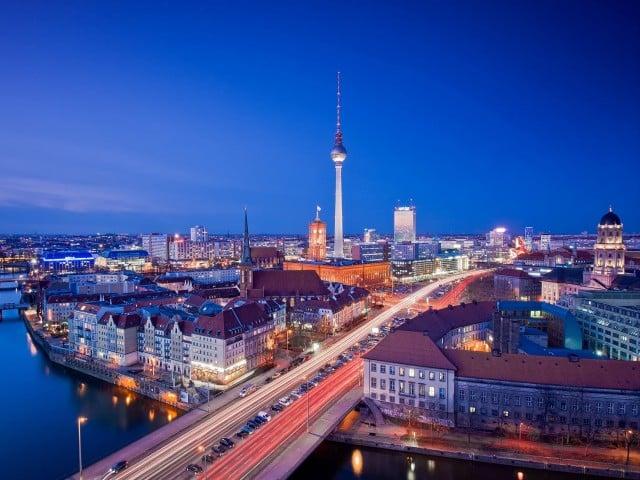 Trânsito em Berlim