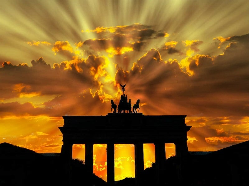 Atardecer em Berlim
