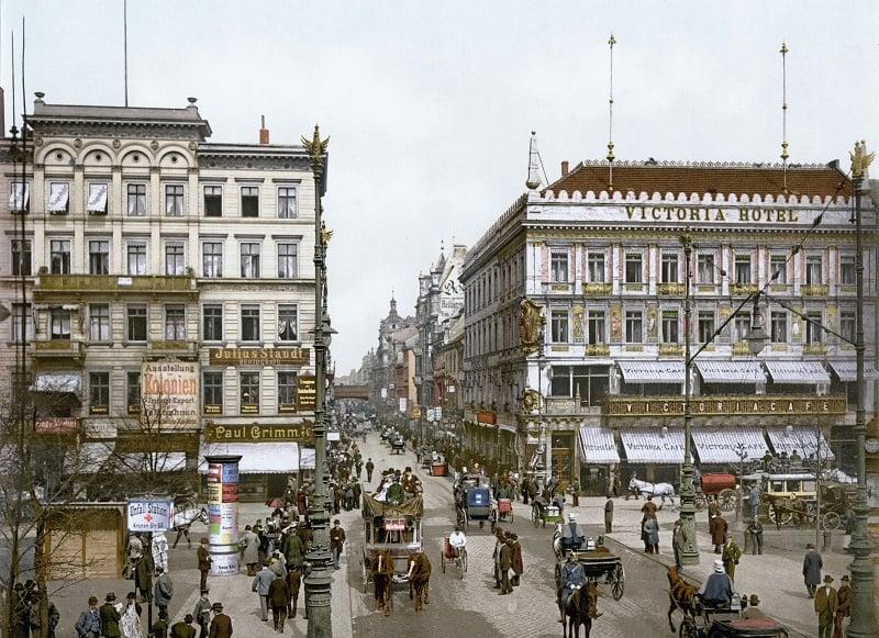 História da Unter den Linden