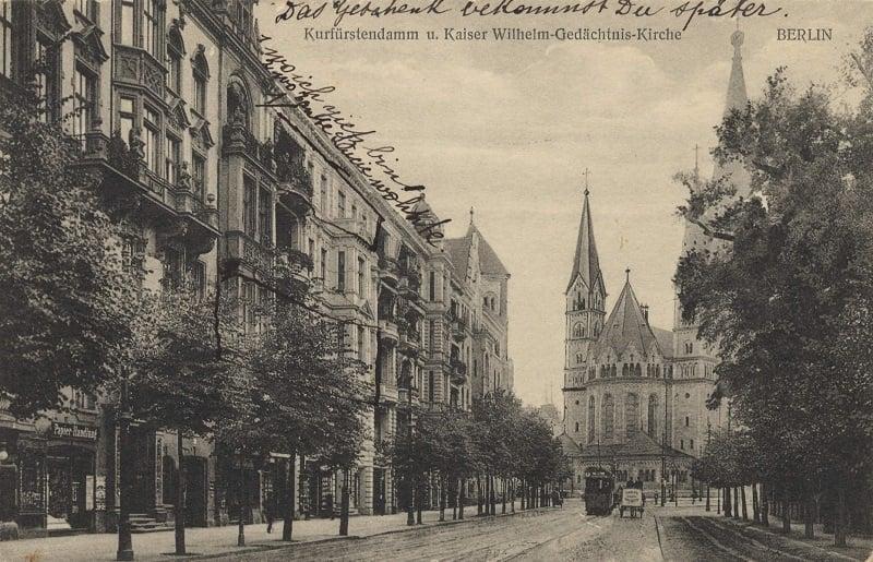 Avenida Kudamm antigamente