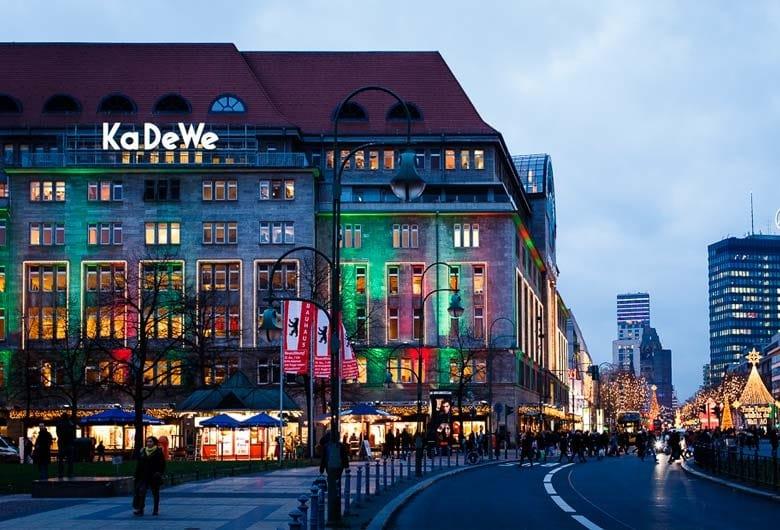 Loja de departamentos KaDeWe em Berlim