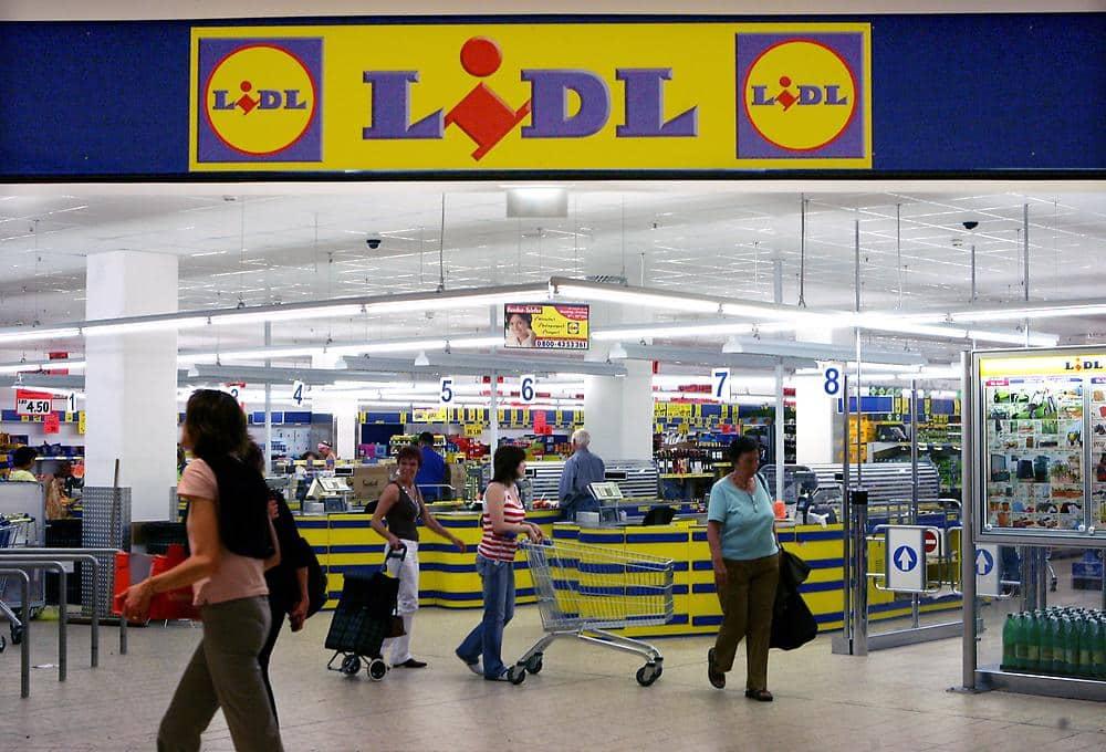 Supermercado Lidl em Berlim
