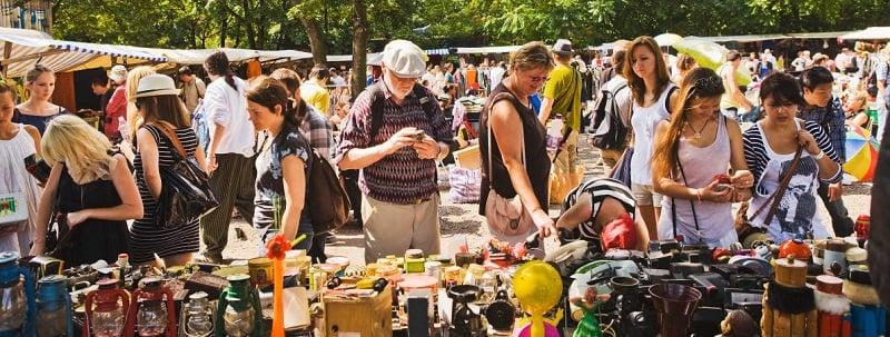 Antik-und Flohmarkt Strasse des 17 Juni