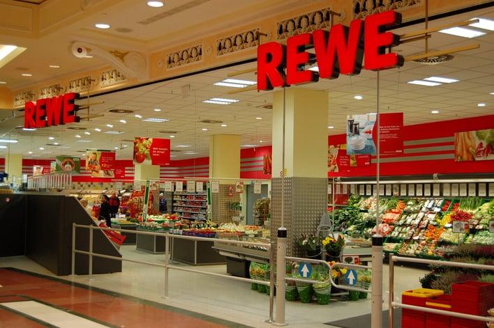 Supermercado Rewe em Berlim
