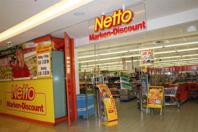 Supermercado Netto em Berlim