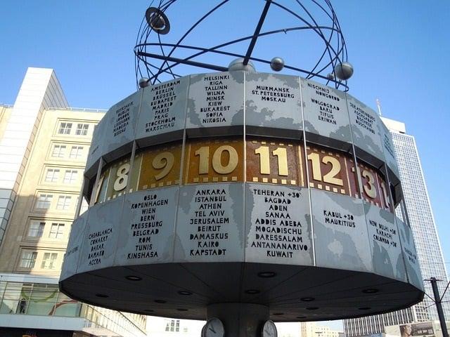 Relógio da Alexanderplatz