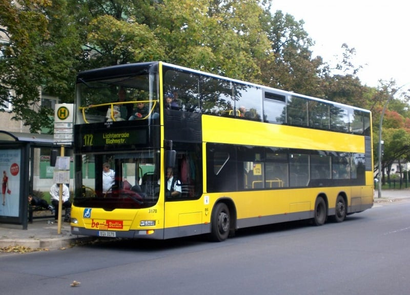 Passeio de ônibus turístico em Berlim
