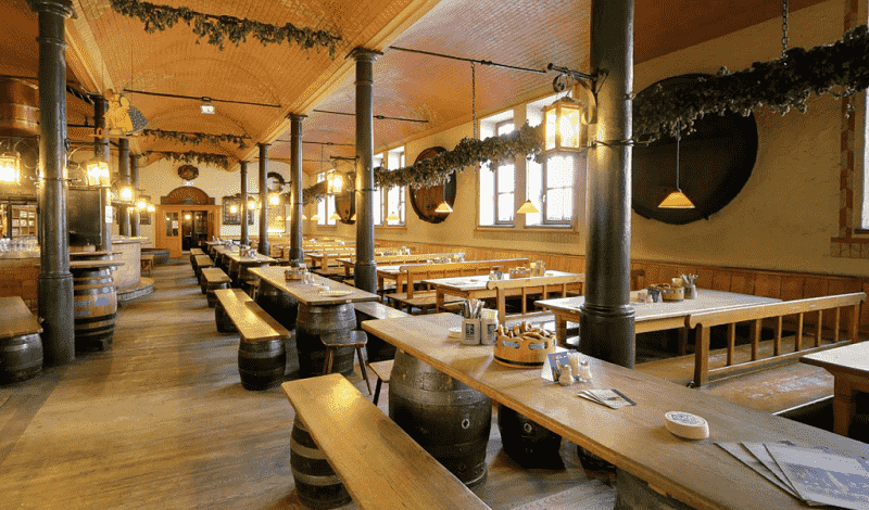 Cervejaria Augustiner Braustuben em Munique
