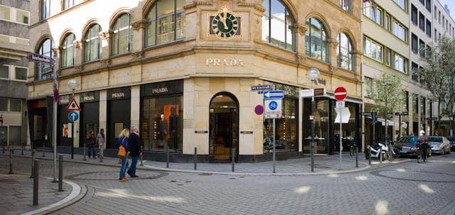 Loja da Prada em Goethestrasse