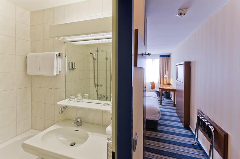 Suíte do Hotel Arthotel Ana im Olympiapark em Munique