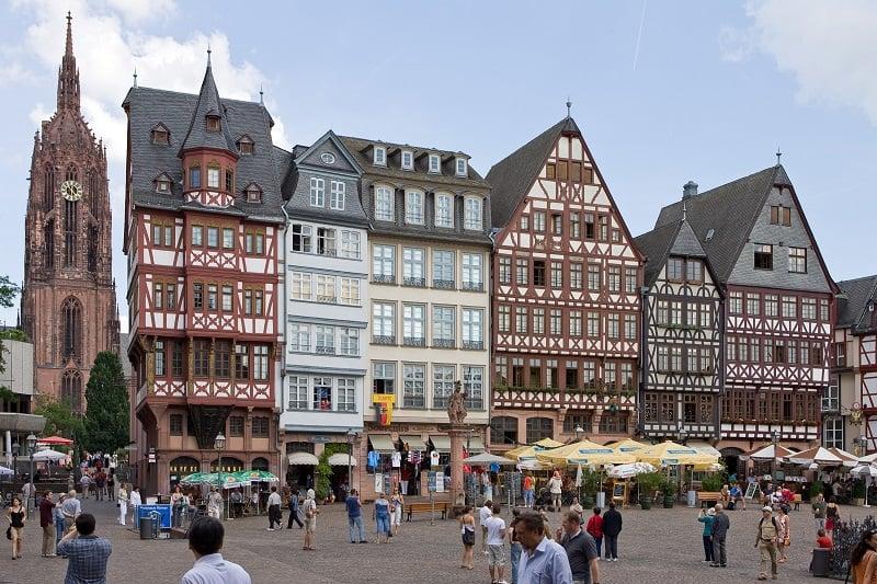 Centro turístico de Frankfurt
