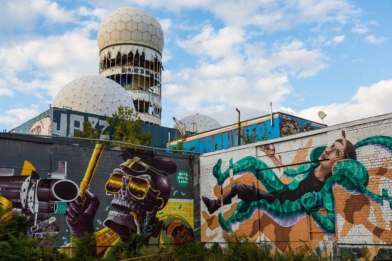 Grafites no Teufelsberg