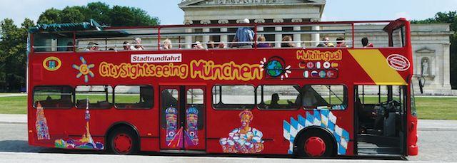 Passeio de ônibus turístico em Munique