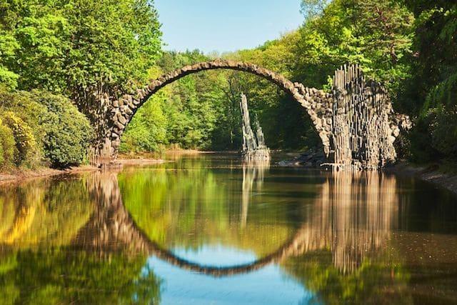 Ponte do Diabo em Kromlau