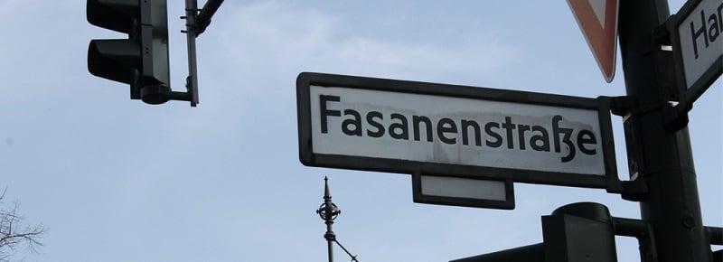 Fasanenstrasse em Berlim
