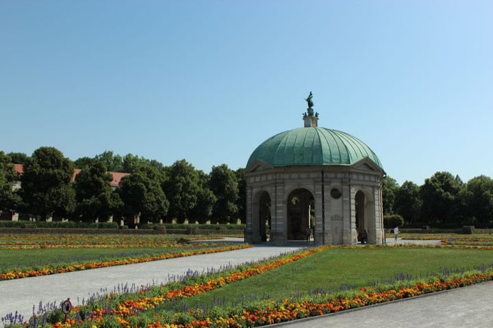 Jardim da Corte da Residenz em Munique