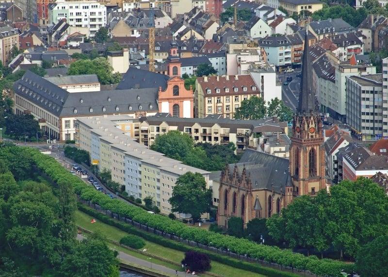 Museu Museumsufer em Frankfurt